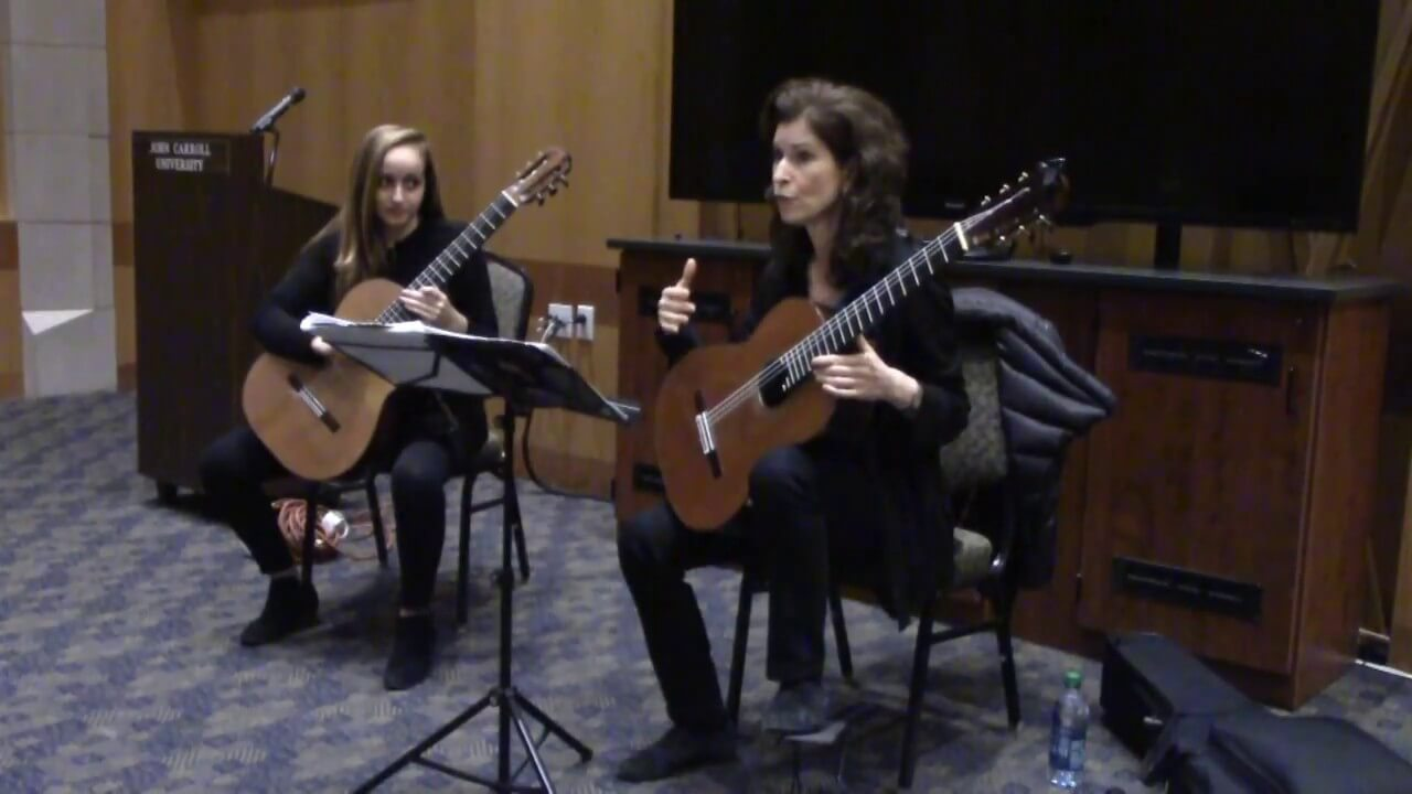 Masterclass with Sharon Isbin – Prelude from BWV 995, J.S. Bach