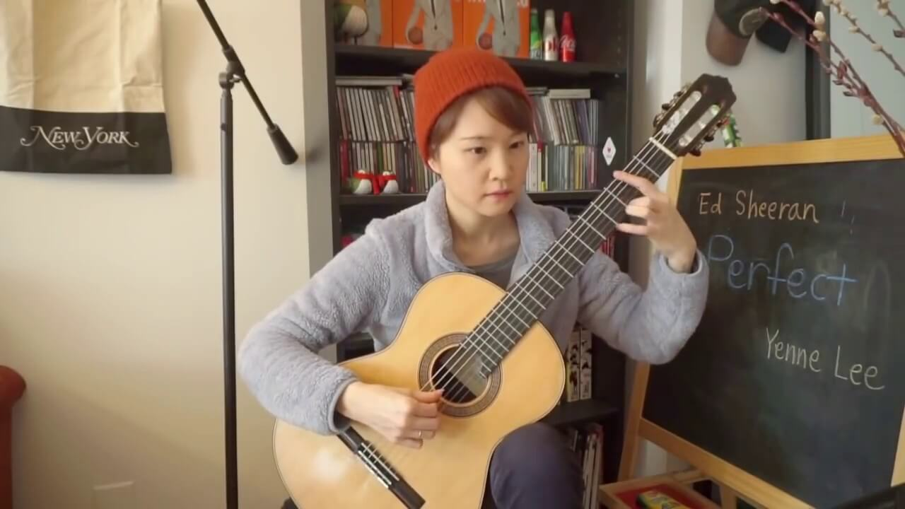 Perfect – Ed Sheeran – Yenne Lee – classical guitar (fingerstyle) solo cover