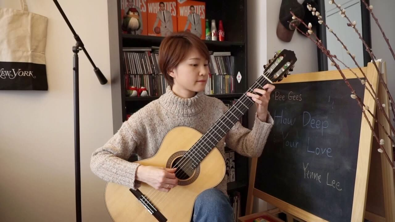 How Deep Is Your Love (Bee Gees) – Yenne Lee – classical guitar (fingerstyle) cover – 클래식기타 이예은